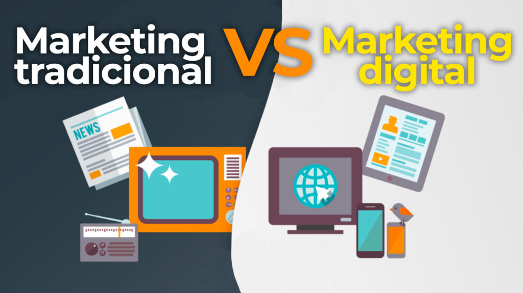 Comparativa entre el marketing tradicional y el digital